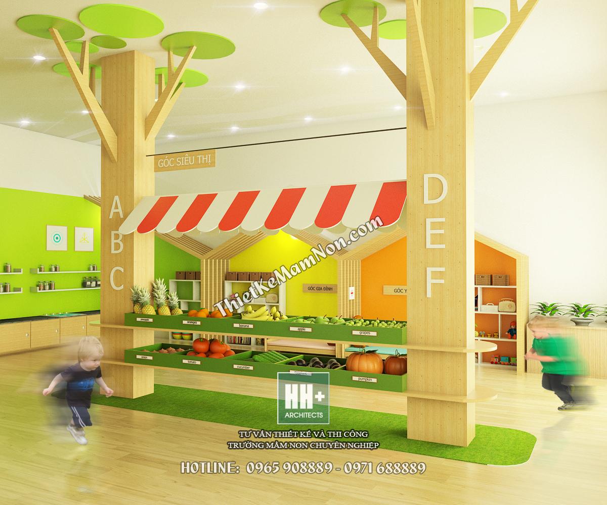 Thiết kế trường mầm non montessori thiết kế trường mầm non montessori Thiết kế trường mầm non montessori Little Sol 2 1 2