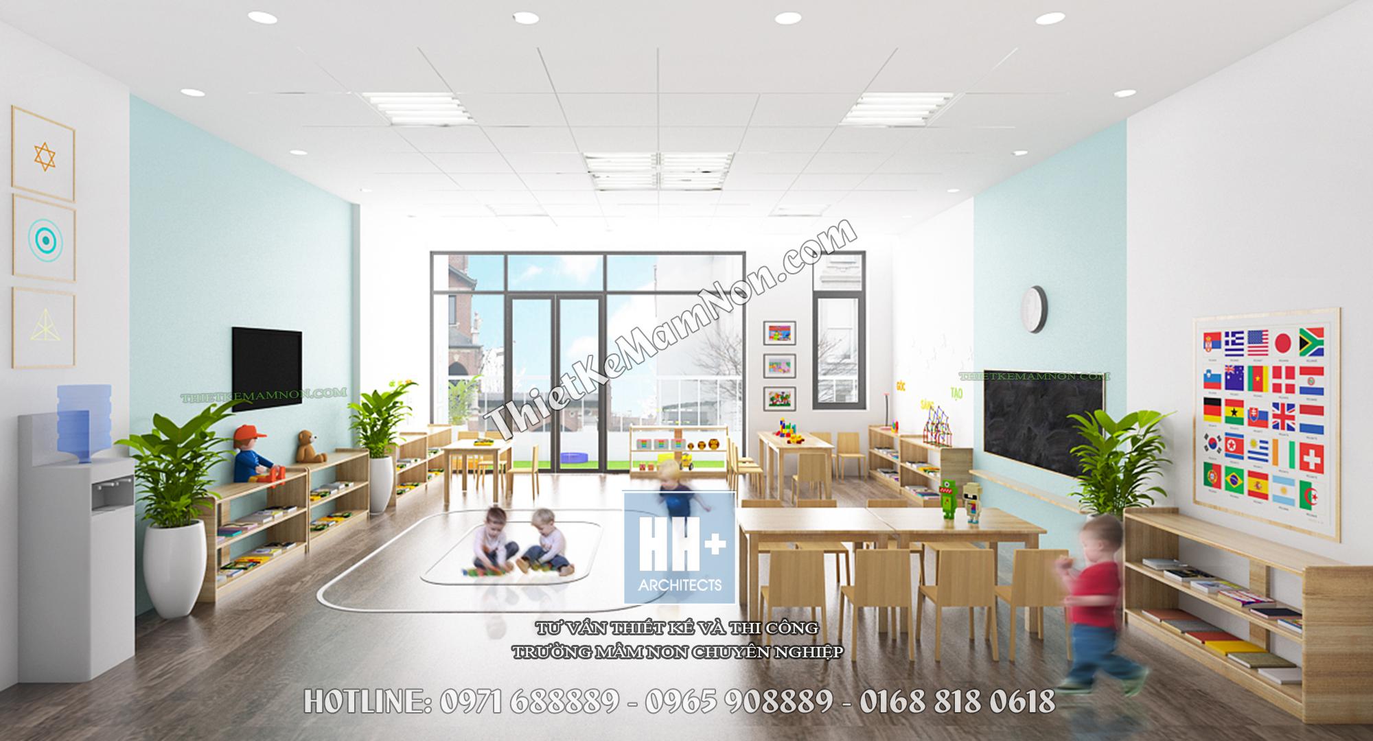 Thiết kế trường mầm non montessori thiết kế trường mầm non montessori Thiết kế trường mầm non montessori Kinder Home 6 3