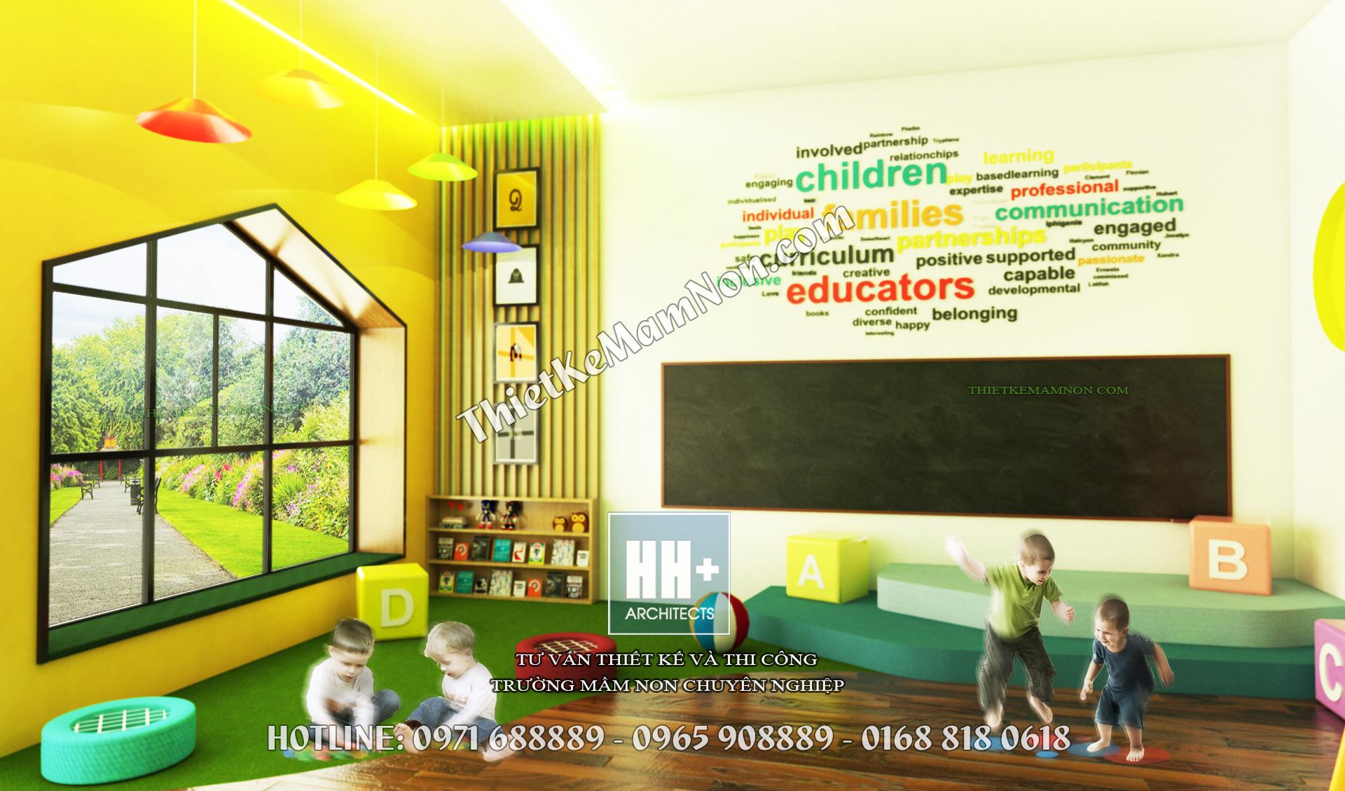 Thiết kế trường mầm non đẹp thiết kế trường mầm non đẹp Thiết kế trường mầm non đẹp Sao Mai 8 3