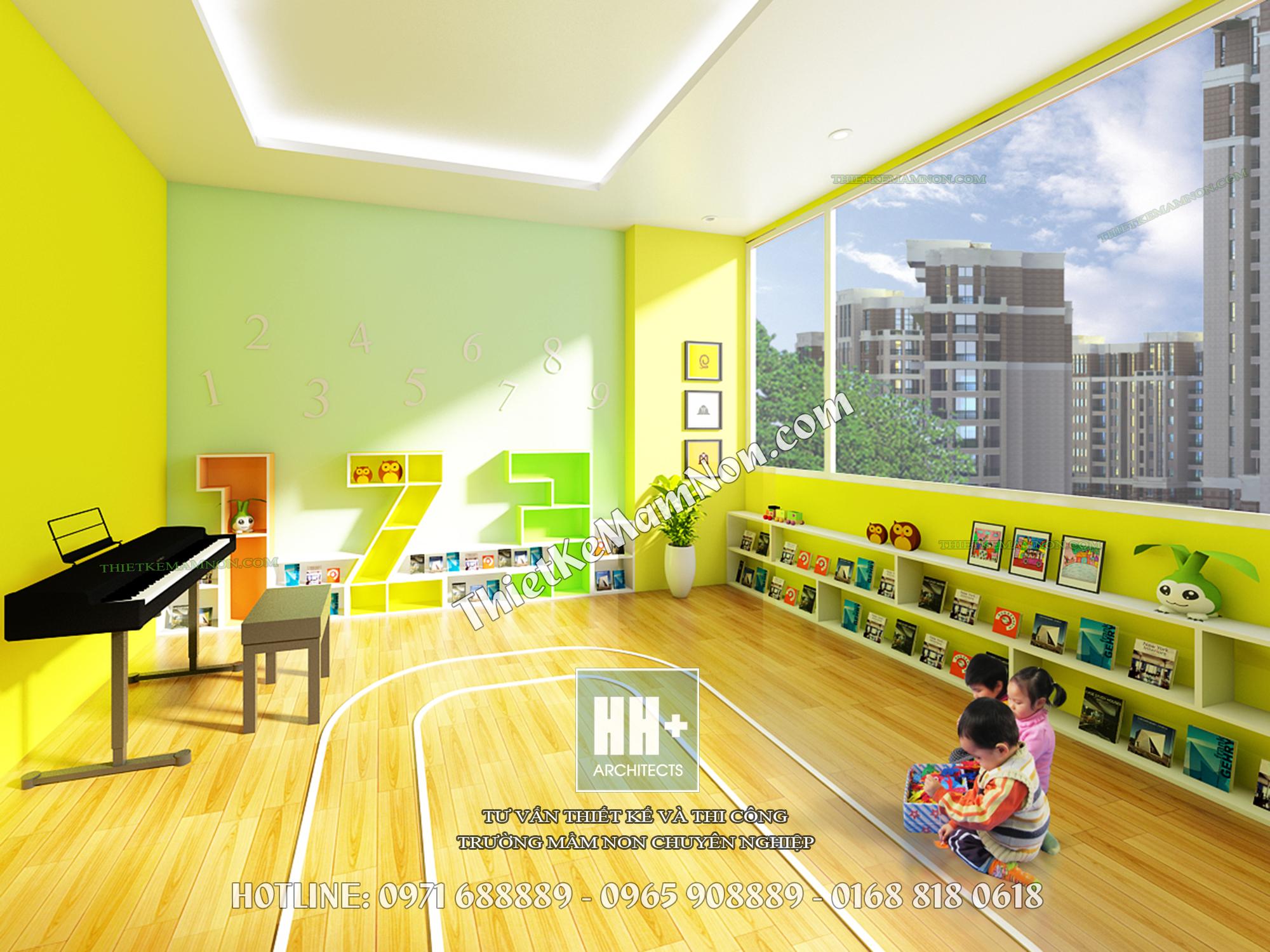 Thiết kế trường mầm non Thiết kế trường mầm non Thiết kế trường mầm non Happy Kids 3 2