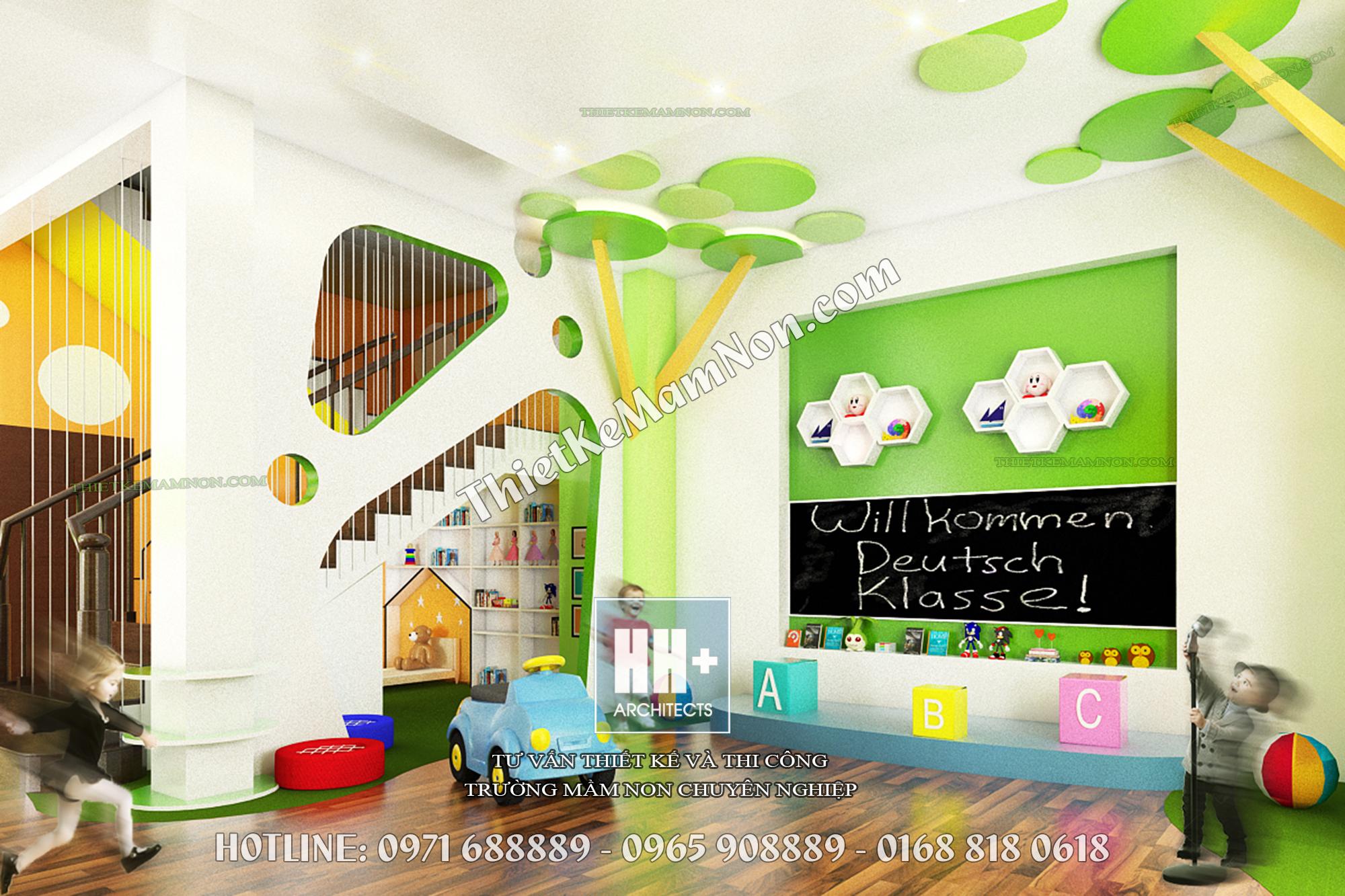 Thiết kế mầm non đẹp thiết kế mầm non Thiết kế mầm non đẹp Elite Kids 3