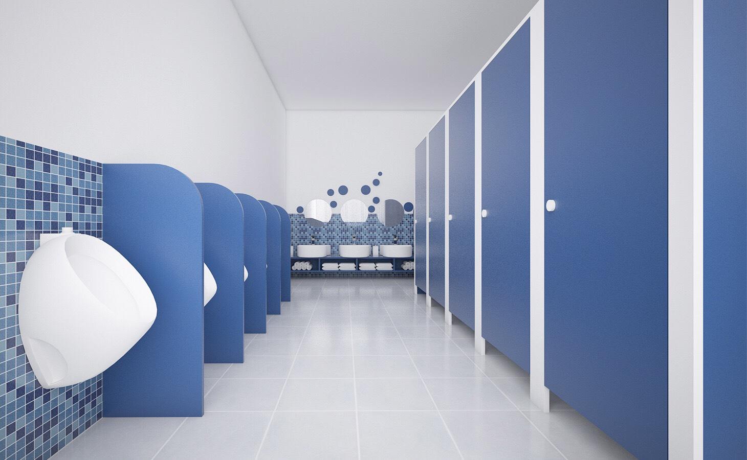 Thiết kế vệ sinh mầm non thiết kế trường mầm non Thiết kế trường mầm non đẹp đạt chuẩn Vesinh2