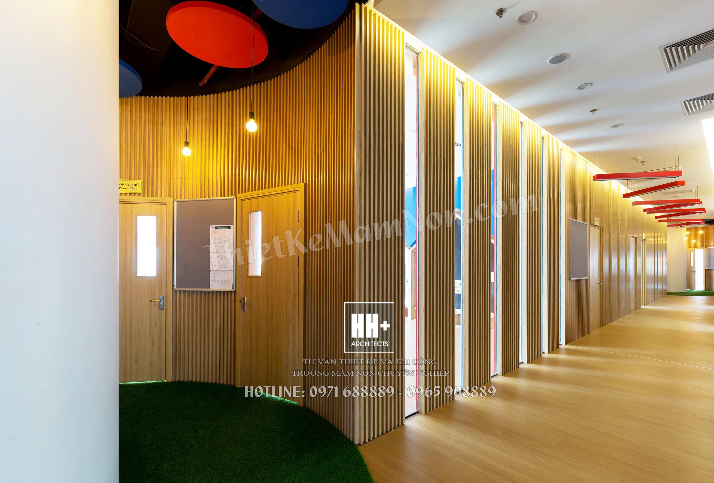 Rosemont_hanhlang_031 thiết kế trường mầm non Thiết kế trường mầm non Quốc Tế MỸ ROSEMONT Rosemont hanhlang 031