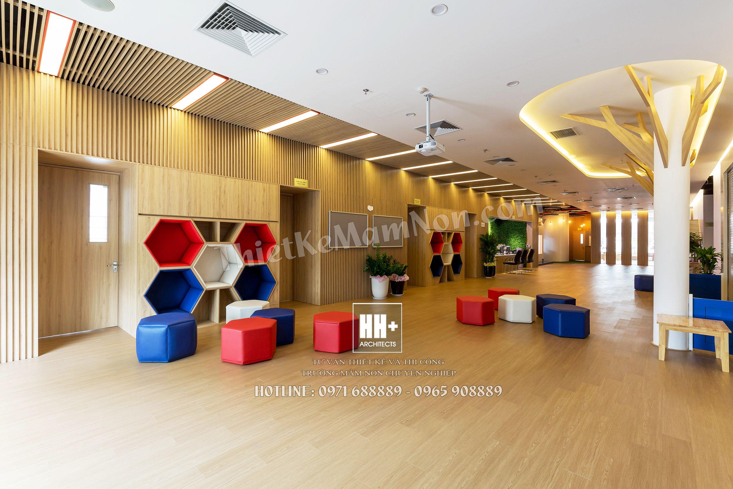 Rosemont_sinhhoatchung_01 thiết kế trường mầm non Thiết kế trường mầm non Quốc Tế MỸ ROSEMONT Rosemont sinhhoatchung 01