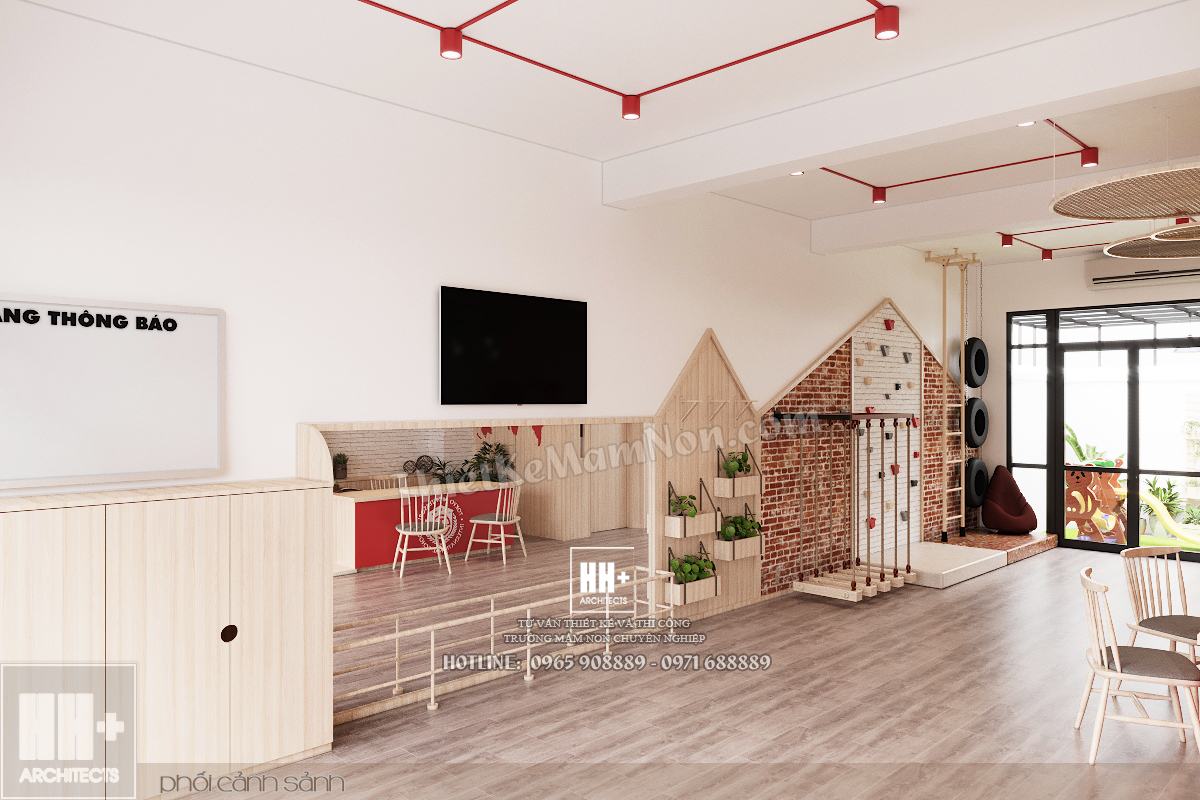 06 Thiết kế trường mầm non Thiết kế trường mầm non Tokyo Montessori 06