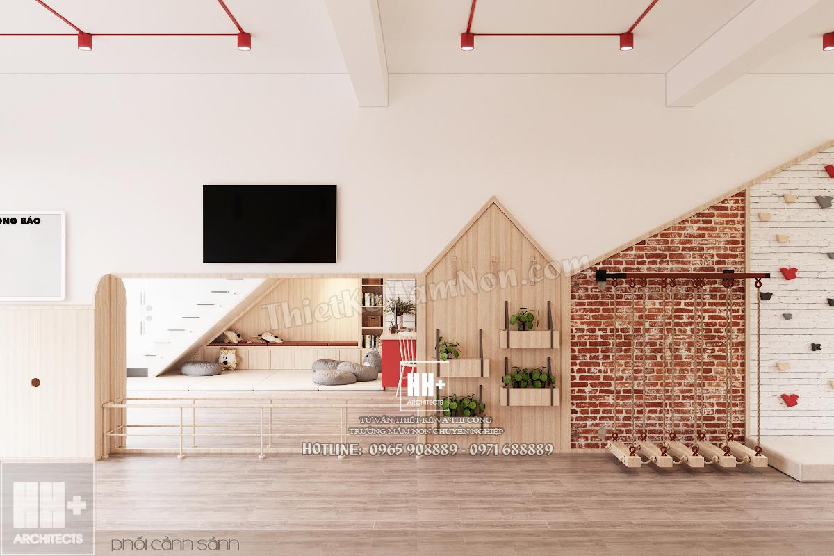 07 Thiết kế trường mầm non Thiết kế trường mầm non Tokyo Montessori 07