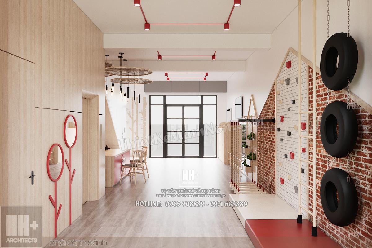 09 Thiết kế trường mầm non Thiết kế trường mầm non Tokyo Montessori 09