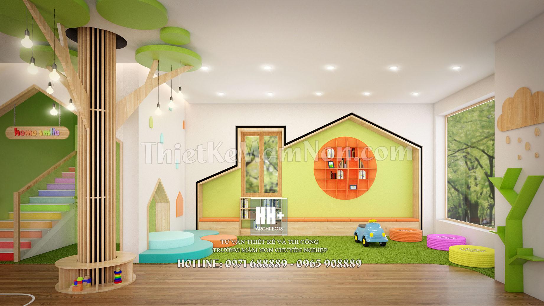 1 thiết kế trường mầm non montessori Thiết kế trường mầm non montessori Việt Anh 1 1