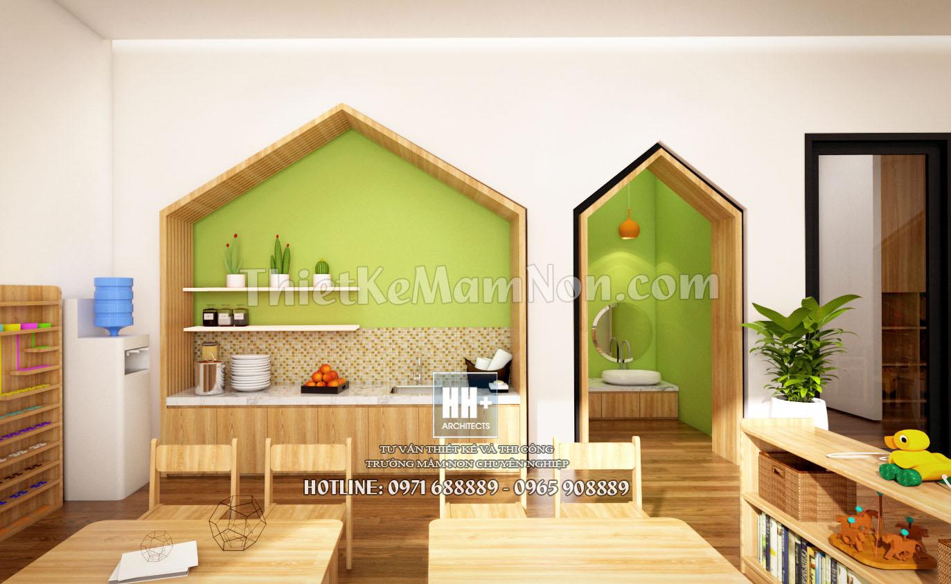 10.1 thiết kế trường mầm non montessori Thiết kế trường mầm non montessori Việt Anh 10