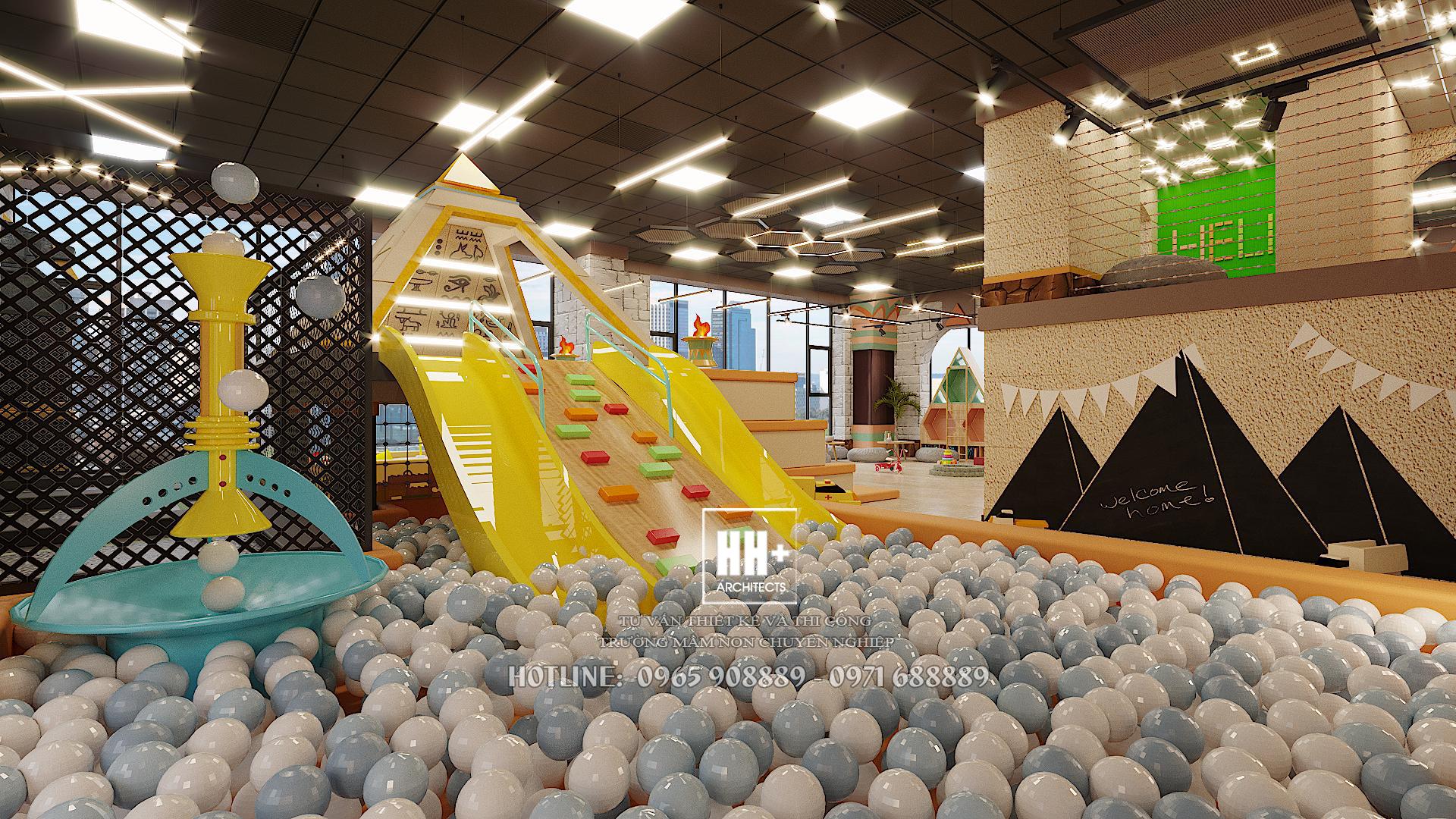 10 Thiết kế khu vui chơi trẻ em Thiết kế khu vui chơi trẻ em Hello World 10
