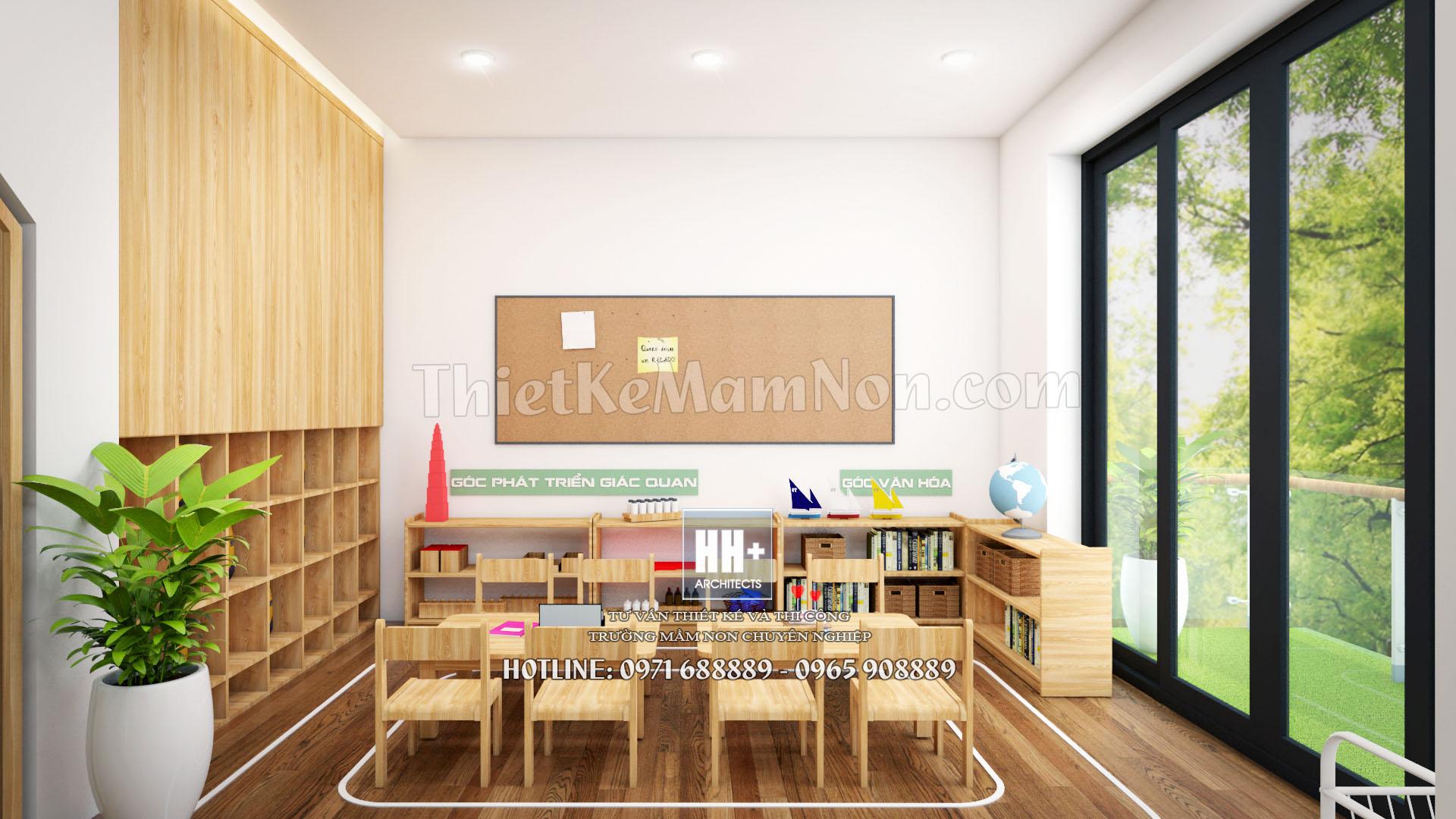 11 thiết kế trường mầm non montessori Thiết kế trường mầm non montessori Việt Anh 11 2