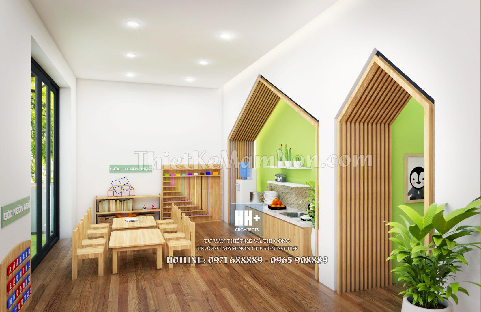 12 thiết kế trường mầm non montessori Thiết kế trường mầm non montessori Việt Anh 12 2