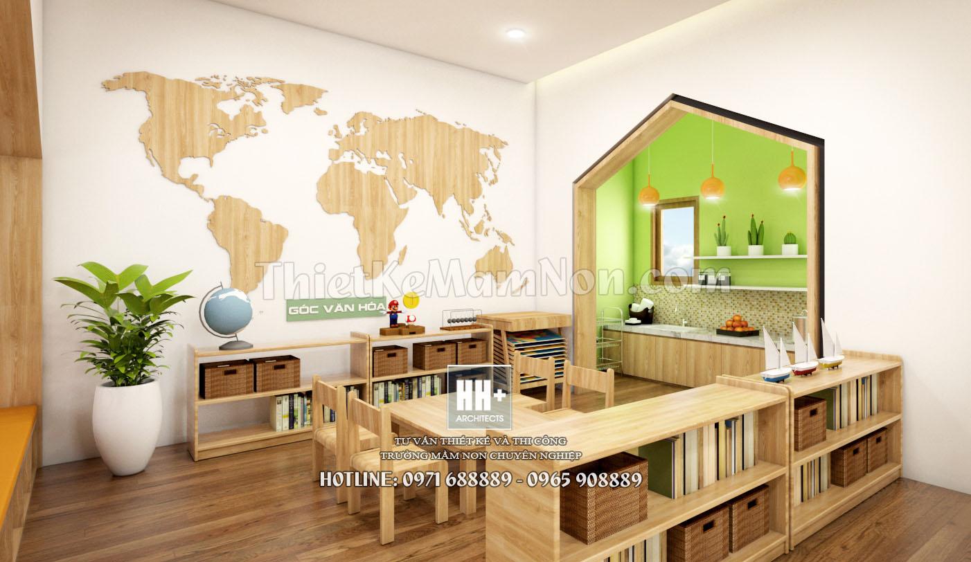14 thiết kế trường mầm non montessori Thiết kế trường mầm non montessori Việt Anh 14