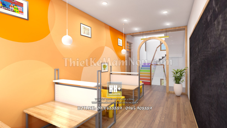 15 thiết kế trường mầm non montessori Thiết kế trường mầm non montessori Việt Anh 15