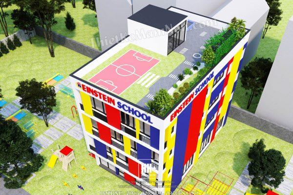 Thiết kế trường mầm non quốc tế Einstein