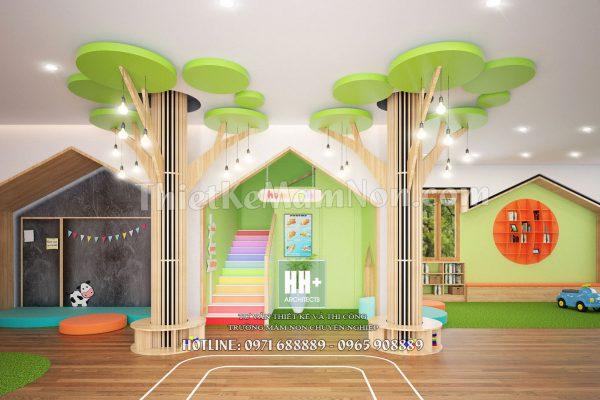 Thiết kế trường mầm non montessori