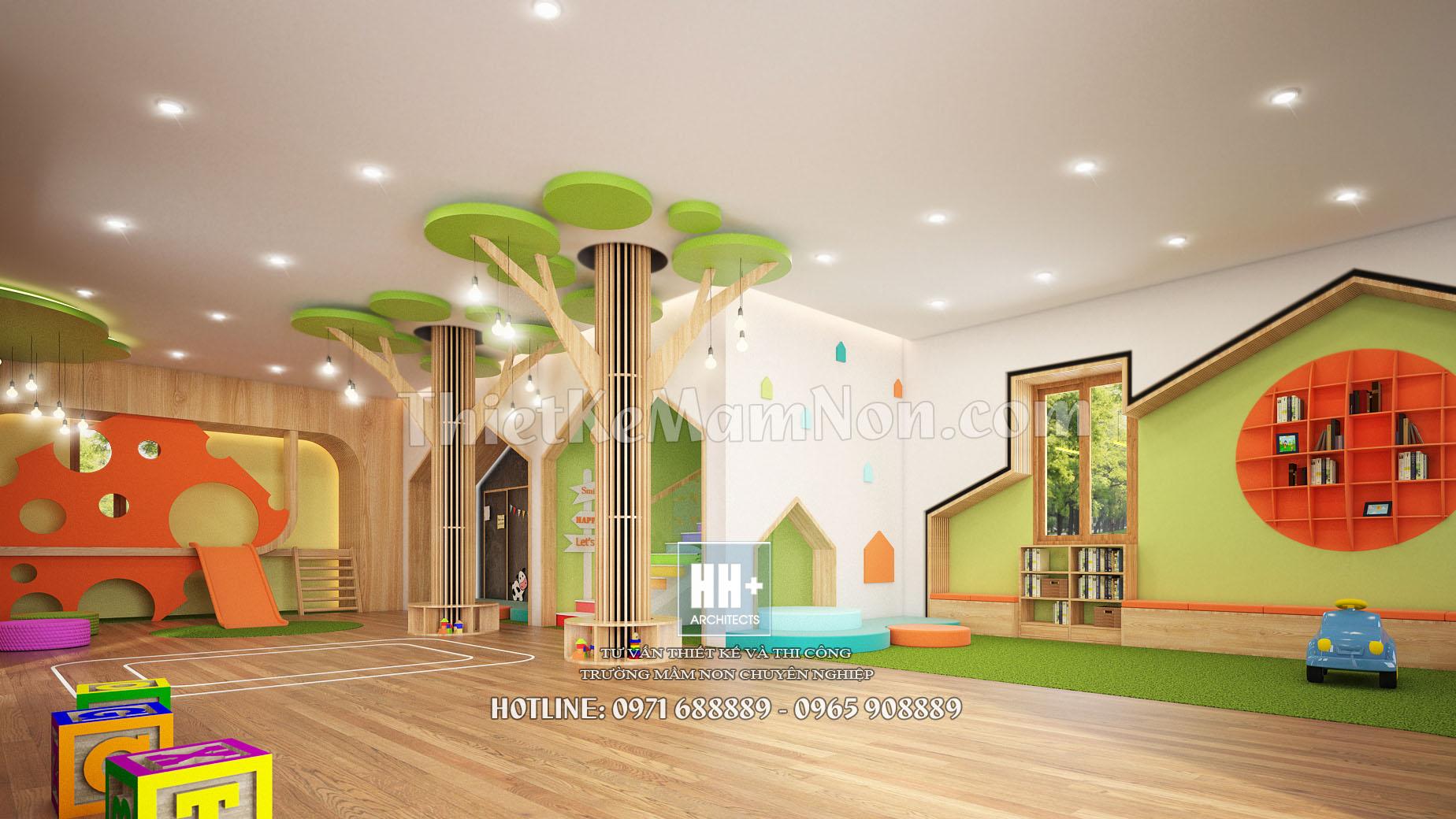 3 thiết kế trường mầm non montessori Thiết kế trường mầm non montessori Việt Anh 3 1
