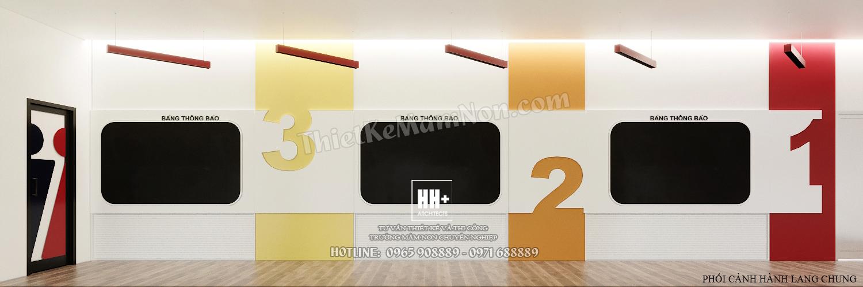 3 - HANH LANG (1) Thiết kế trường mầm non Thiết kế trường mầm non HM KINDERGARTEN SCHOOL 3 HANH LANG 1