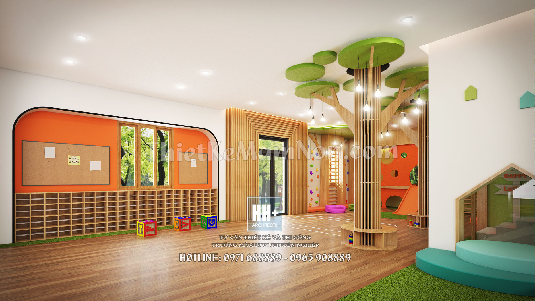 4 thiết kế trường mầm non montessori Thiết kế trường mầm non montessori Việt Anh 4 1