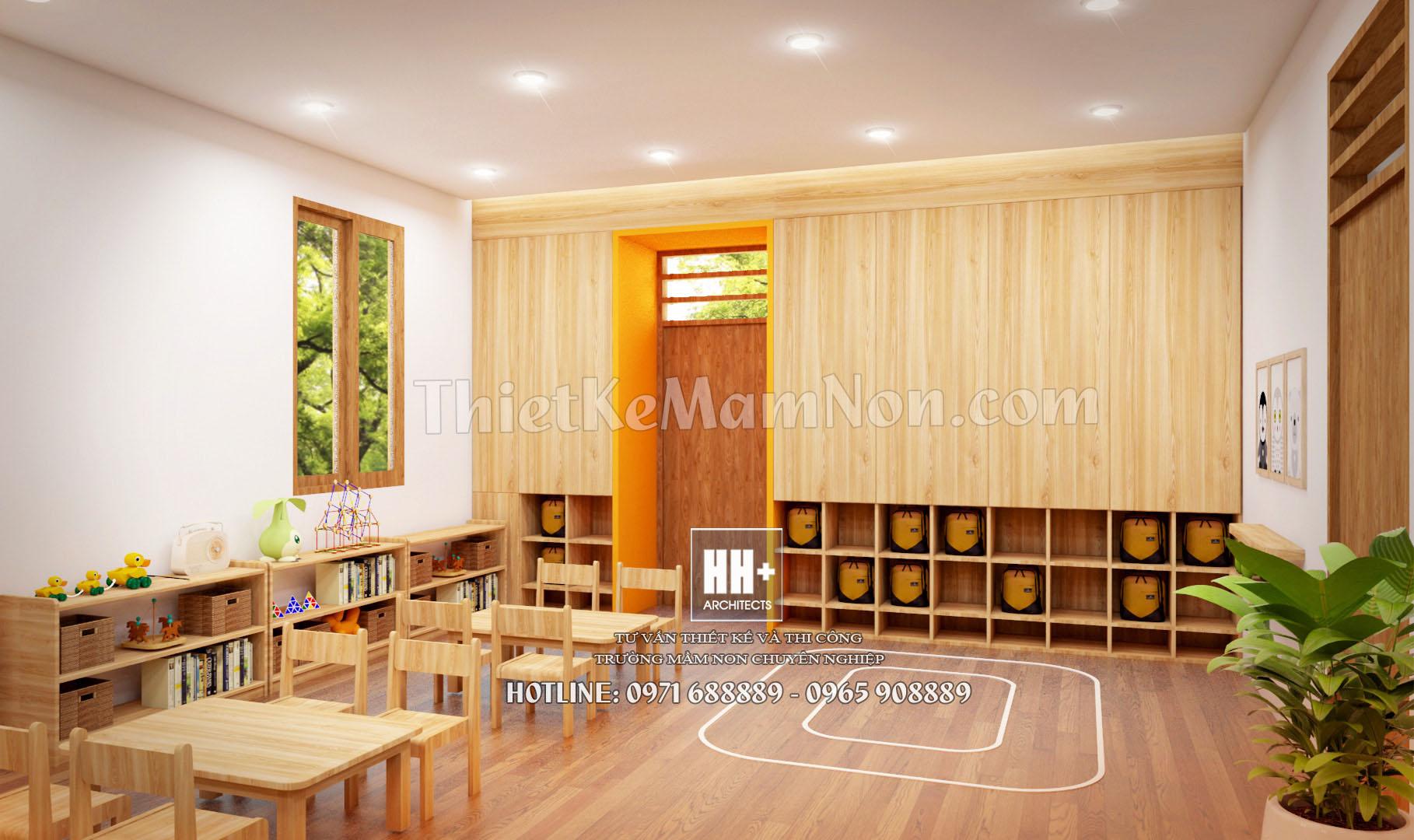 7 thiết kế trường mầm non montessori Thiết kế trường mầm non montessori Việt Anh 7 1