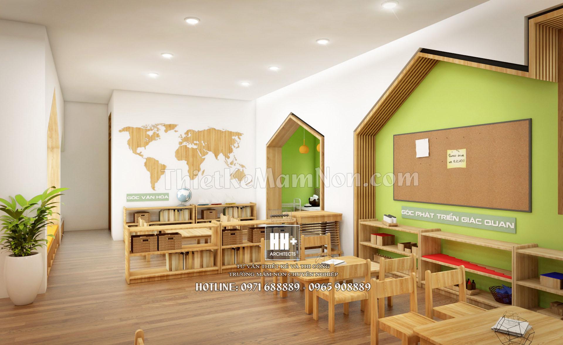 8 thiết kế trường mầm non montessori Thiết kế trường mầm non montessori Việt Anh 8 1