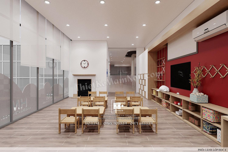 LH 4 (1) Thiết kế trường mầm non Thiết kế trường mầm non HM KINDERGARTEN SCHOOL LH 4 1