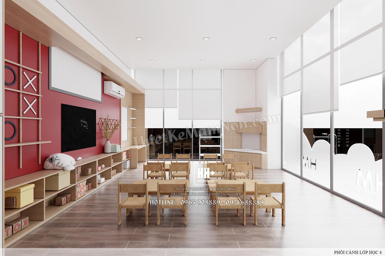 LH 4 (3) Thiết kế trường mầm non Thiết kế trường mầm non HM KINDERGARTEN SCHOOL LH 4 3