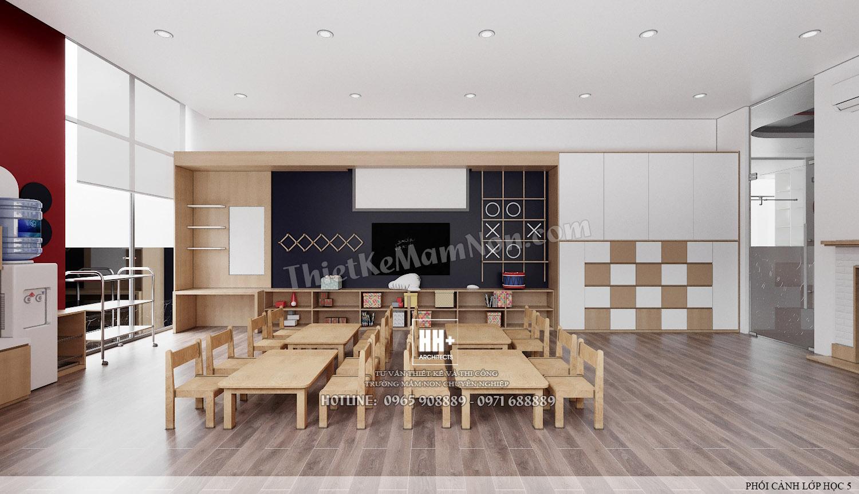 LH 5 (1) Thiết kế trường mầm non Thiết kế trường mầm non HM KINDERGARTEN SCHOOL LH 5 1