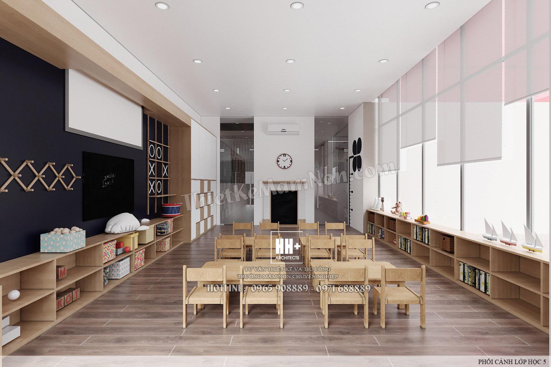 LH 5 (2) Thiết kế trường mầm non Thiết kế trường mầm non HM KINDERGARTEN SCHOOL LH 5 2