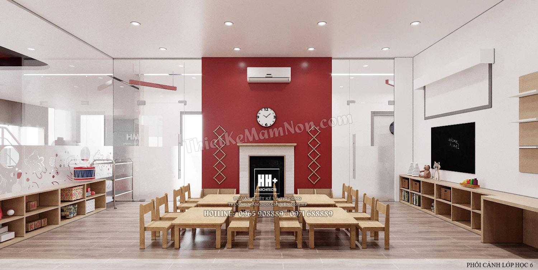 LH 6 (3) Thiết kế trường mầm non Thiết kế trường mầm non HM KINDERGARTEN SCHOOL LH 6 3
