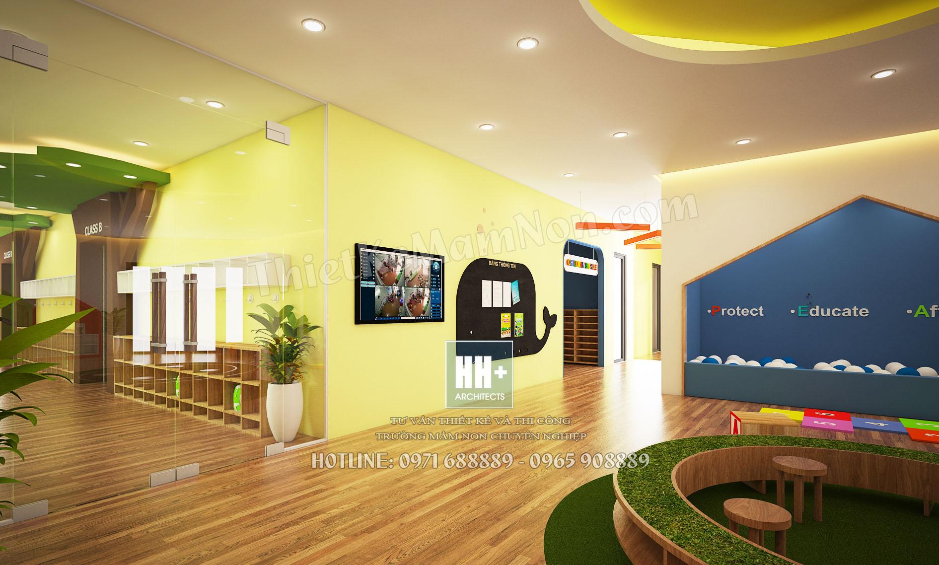 06 sanh 6 Thiết kế trường mầm non montessori Thiết kế trường mầm non montessori Hoa Thủy Tinh 06 sanh 6