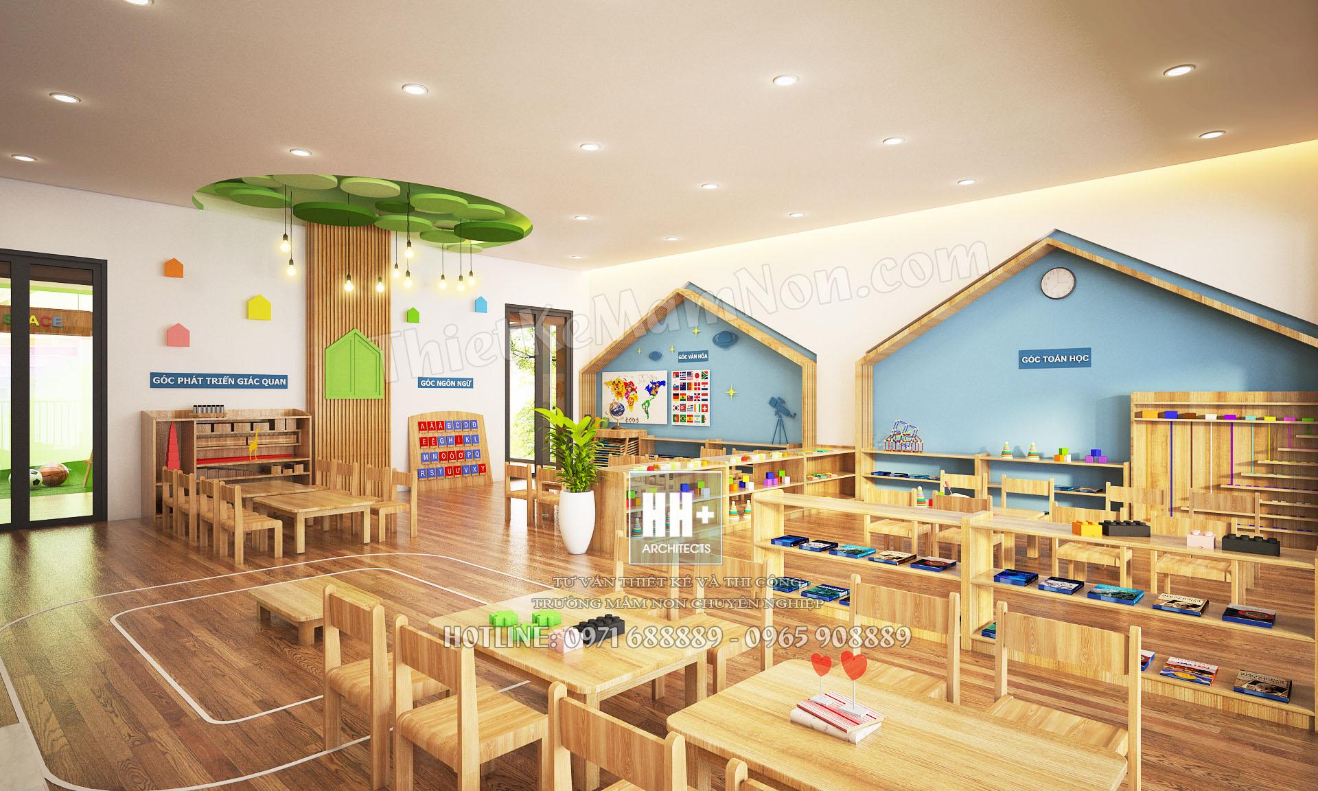 09 Tang 1-2 Thiết kế trường mầm non montessori Thiết kế trường mầm non montessori Hoa Thủy Tinh 09 Tang 1 2