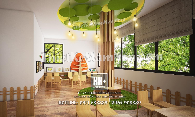 09 thiết kế nội thất mầm non Thiết kế nội thất mầm non quốc tế Việt Anh 09