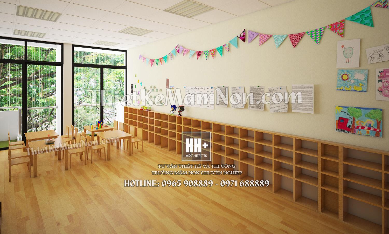 12 Thiết kế trường mầm non Thiết kế trường mầm non Nhật Bản Sakura Kids 12
