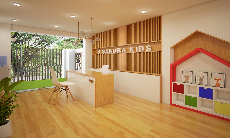 Thiết kế trường mầm non Nhật Bản Sakura Kids Thiết kế trường mầm non Thiết kế trường mầm non Nhật Bản Sakura Kids 2