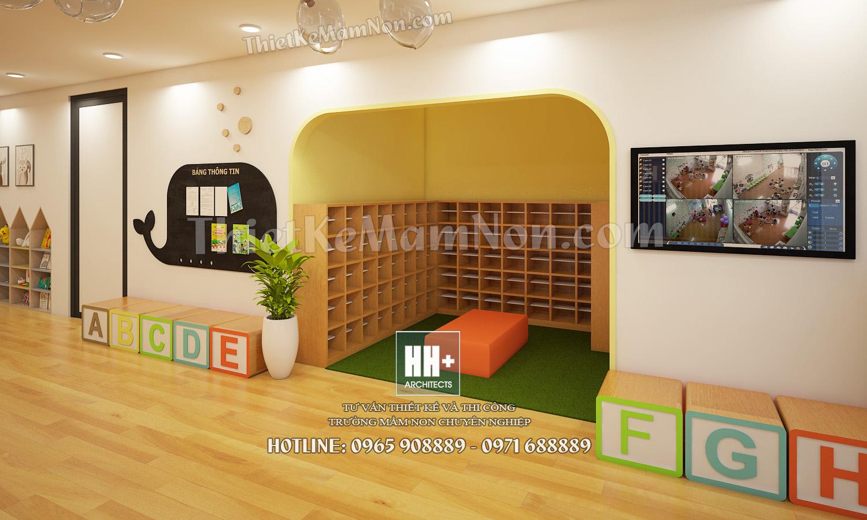 5 Thiết kế trường mầm non Thiết kế trường mầm non Nhật Bản Sakura Kids 5