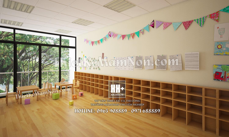 6 Thiết kế trường mầm non Thiết kế trường mầm non Nhật Bản Sakura Kids 6