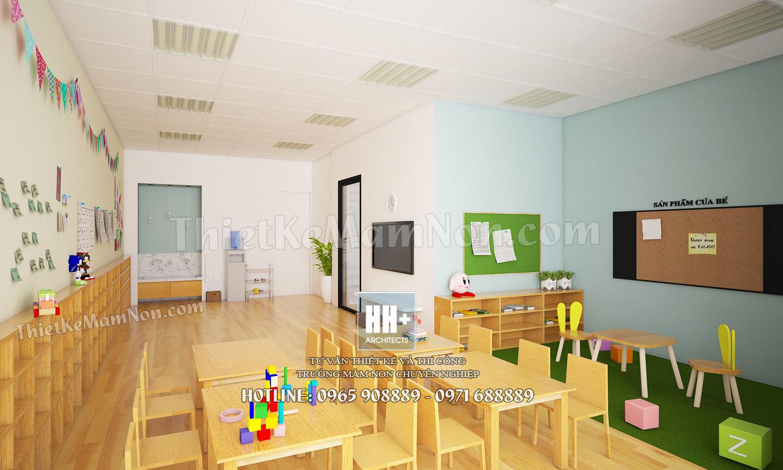 8 Thiết kế trường mầm non Thiết kế trường mầm non Nhật Bản Sakura Kids 8